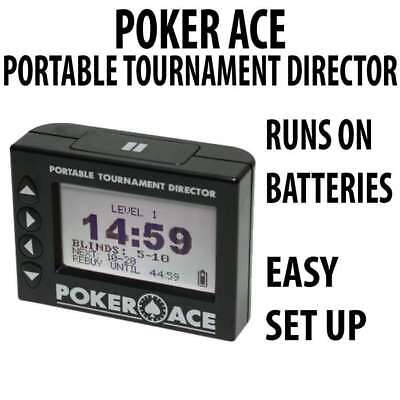 Poker Ace PTD (Portable Tournament Director)  : Tournament Clock Version 2.1