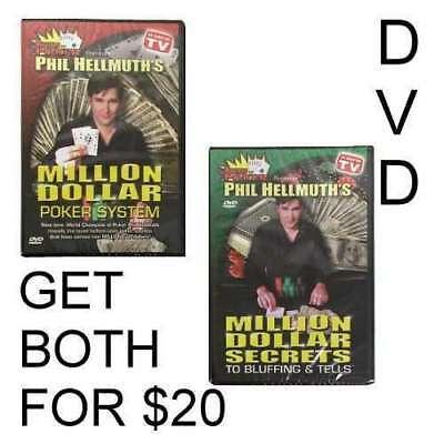 Poker DVD: Phil Hellmuth Jr 2 DVD set SPECIAL !