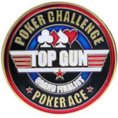 Poker Protector Card Guard Cover in Capsule :  Top Gun