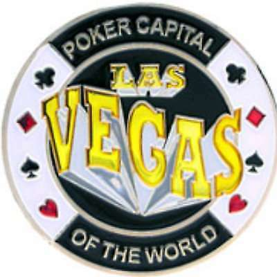 Poker Protector Card Guard Cover in Capsule :  Las Vegas : Poker Capital of the