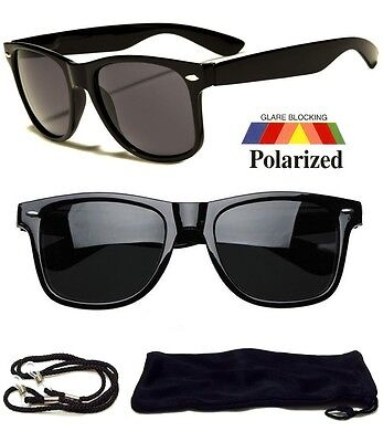 New Polarized Wayfarer Sunglasses Retro Glasses Vintage Frame Unisex Fashion NEW