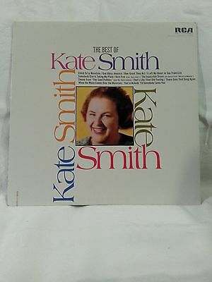 The Best of Kate Smith by Kate Smith RCA vinyl LP 33/12'' LSP-3970