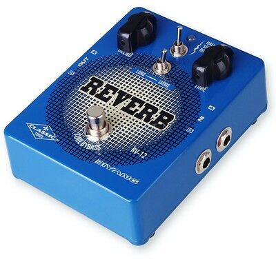 Biyang RV12 Digital Reverb Guitar Effects Pedal For Your Amp, Stage Or Recording