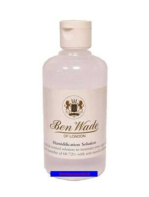 Ben Wade Humidor Humidification Solution 125ml Bottle - Anti Mould Liquid Water