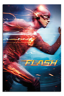 The Flash Movie Running Poster New - Maxi Size 36 x 24 Inch