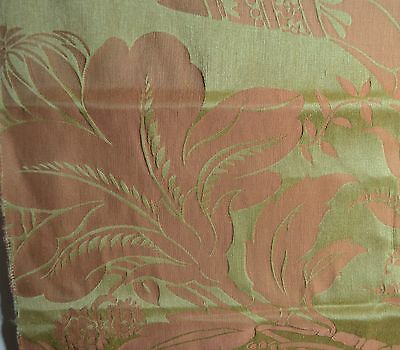 Magnificent Clarence House French Linen Sample – Grand Bizarre Rr481