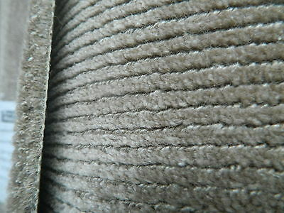 Handmade Carpets Remnant Roll End Rapur Taupe 5x2.40m RRP £1272 - Mega Quality