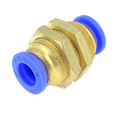 "10mm to 10mm Tube 1/2"" PT M Thread Full Port Quick Couplers Fitting"