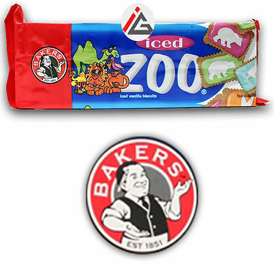Bakers - Iced Zoo Vanilla Biscuits - 150 gm