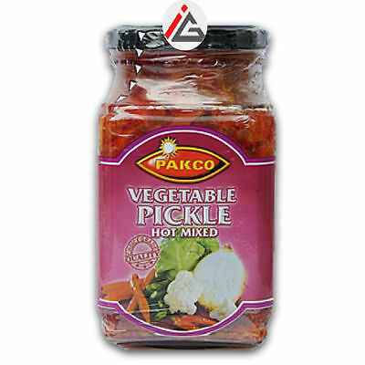 Pakco - Vegetable Pickle Hot Mixed - 385 gm