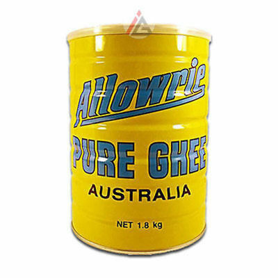 Allowrie - Pure Ghee (Clarified Butter) Australia - 1.8 kg