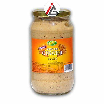 CV - Freshly Minced Ginger Paste - 1kg
