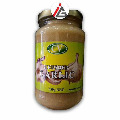 CV - Freshly Crushed Garlic Paste - 350 gm