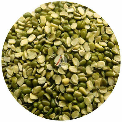 Split Green Gram  With skin (Chilka Moong Dal) - 1Kg