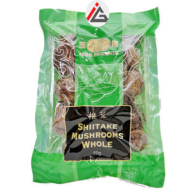 Jade Phoenix - Shiitake Mushrooms Whole - 50 gm