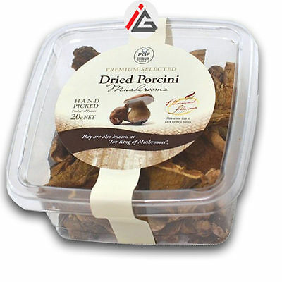 Premium Gourmet Food (PGF) - Dried Porcini Mushrooms - 20 gm