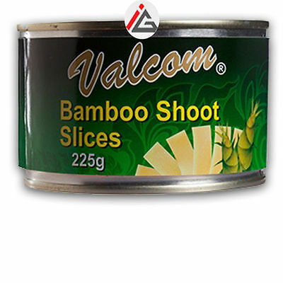 Valcom - Bamboo Shoot Slices - 225 gm