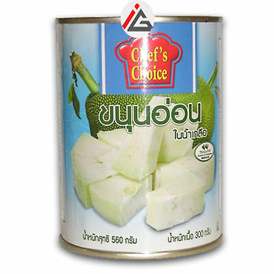CTF Young Green Jackfruit in Brine - 560 gm