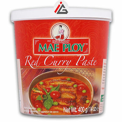 Mae Ploy - Red Curry Paste - 400 gm