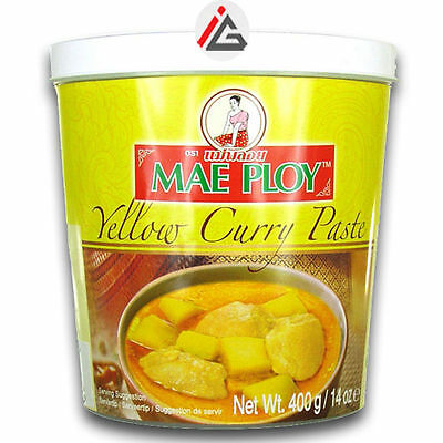 Mae Ploy - Yellow Curry Paste - 400 gm
