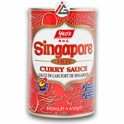 Yeo's - Singapore Hot Curry Sauce - 400 gm