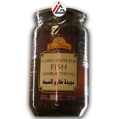 Sun Island - Curry Paste For Fish (Ambulthiyal) - 350 gm