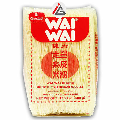Wai Wai - Oriental Style Instant Noodles (Vermicelli Rice) - 500 gm