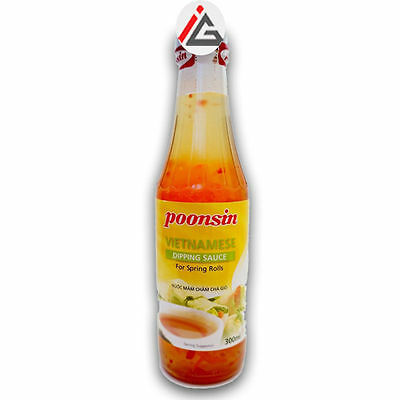 Poonsin - Vietnamese Dipping Sauce For Spring Roll - 300 ml