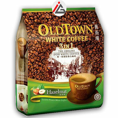 Old Town - White Coffee 3 in 1 (Hazelnut Flavour) - 600 gm