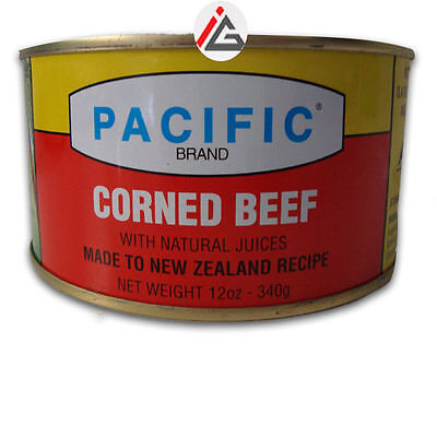 Pacific - Corned Beef with Natural Juices - 340 gm
