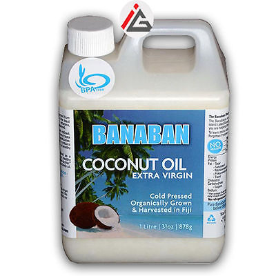 Banaban - Coconut Oil Extra Virgin Cold Pressed Easy Pour (Summer Container) - 1