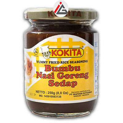 Kokita - Bumbu Nasi Goreng Sedap (Yummy Fried Rice Seasoning) - 250 gm