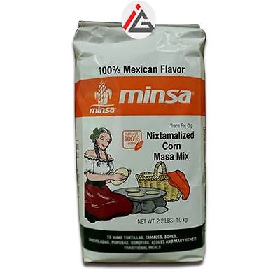 Minsa - Nixtamalized White Corn Masa Mix - 1 KG • AUD 8.39