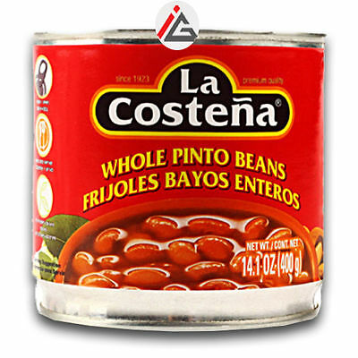 La Costena - Whole Pinto Beans (Frijoles Bayos Enteros) - 400 gm