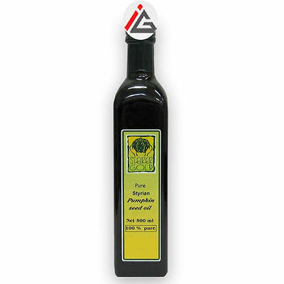 Steirer Gold 100% Pumpkin Seed Oil (Product Of Austria)- 500 ml