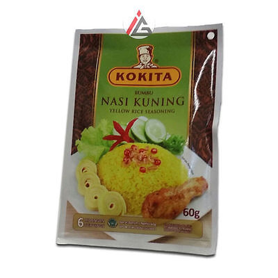 Kokita - Bumbu Nasi Kuning (Yellow Rice Seasoning) - 60 gm