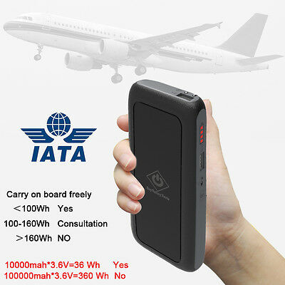 External 10000mAh Power Bank Pack Portable USB Battery Charger For Mobile Phone
