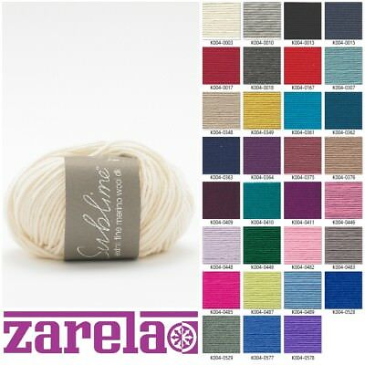Sublime Extra Fine Merino DK - 50G ***ALL COLOURS***
