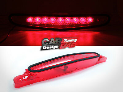 Red Lens Rear 3rd LED Third Brake Light Fits 2010-2013 Mazda 3 Sedan 4D