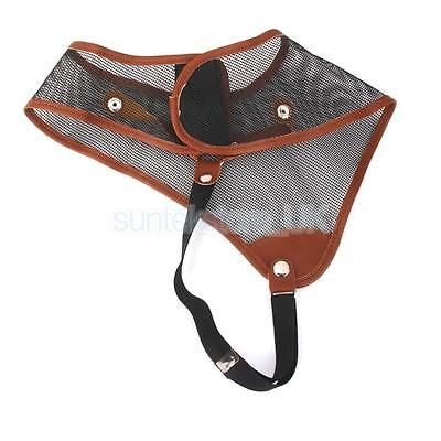 Archery Nylon Mesh Chest Guard Protector For Bow Hunting Shooting Gear Black