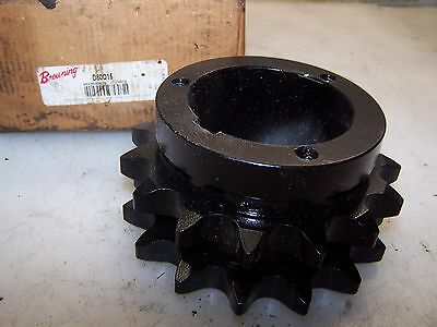 New Browning Double Strand Keyed Bore Sprocket  D80Q15