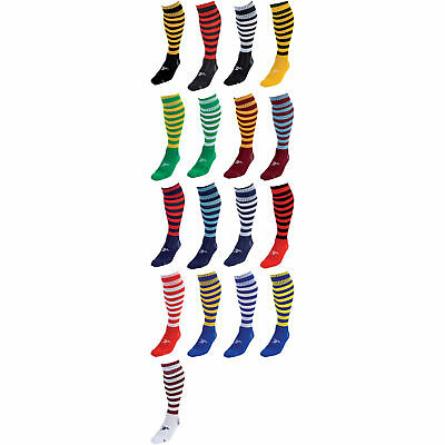 Precision Training Contrast Hoop Pro Football Socks All Sizes And Colours rrp£9
