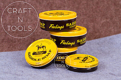 Fiebing's Saddle Soap in 2 sizes (3.5oz,12oz) fiebing leather cleaner shoes belt