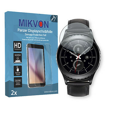 2x Mikvon Armor Screen Protector for Samsung Gear S2 (2016) accessories