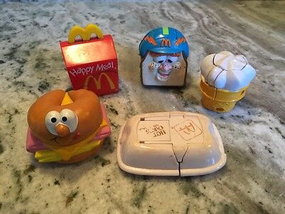 Lot Of 5 Vintage McDonald's Happy Meal Toys