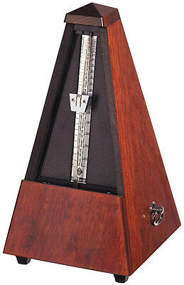 Wittner Wood Key Wound Metronome Mahogany Finish 801m - New - with free shipping