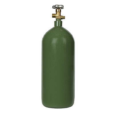40 cu ft Steel Oxygen Cylinder New Tank - Acetylene Welding - DOT, ISO/UN, & TC