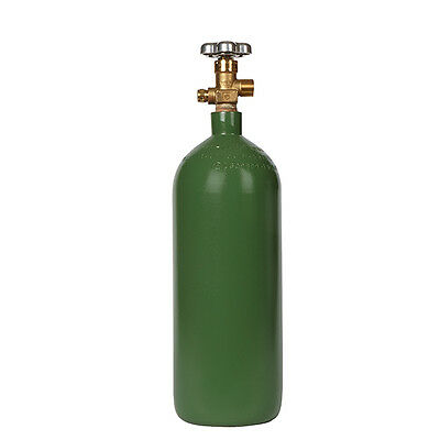 20 cu ft Steel Oxygen Cylinder Tank for Oxygen-Acetylene Welding - NEW