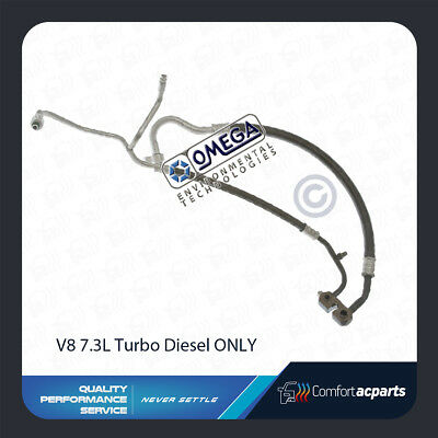 A/C AC Suction and Discharge Hose Fits: 1999 - 2003 Ford F250 F350 F450 V8 7.3L