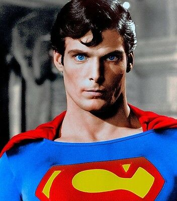 Christopher Reeve Superman Movie 8X10 Glossy Photo Photograph